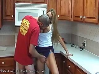 Hot drunk Mom Seduced By Son
