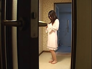 Japanese mother fucks her son-s friend..