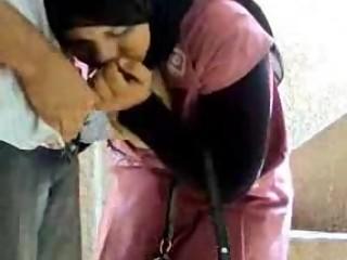 egypt hijab girl with Neighbor son
