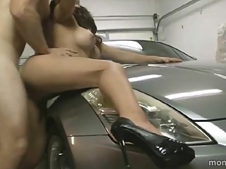 Family Sex in Home Garage